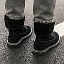 Женские угги Ugg boot Fur Black, фото 4
