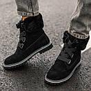 Женские угги Ugg boot Fur Black, фото 5