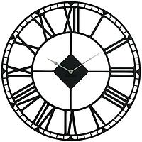 Большие настенные часы Oxford (черные)
