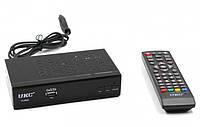 Тюнер DVB-T2 UKC 0968 с поддержкой wi-fi адаптера (6922)