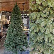 Кедр 2.1м литая елка искусственная ель литая густая с пластика