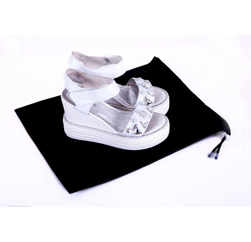 Сумка-пыльник для обуви на затяжке ORGANIZE HO-01-black черный