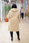 Дублянка жіноча прямого силуету з накладними кишенями M3, фото 3