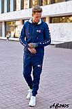 Мужской спортивный костюм тройка:кофта,футболка и штаны., фото 2