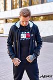 Мужской спортивный костюм тройка:кофта,футболка и штаны., фото 3