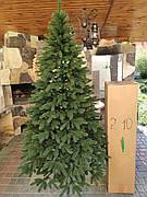 Премиум зеленая 2.1м литая елка искусственная ель литая