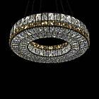 Кришталева підвісна світлодіодна люстра СветМира з пультом управління LS-9116-500 Ring, фото 4