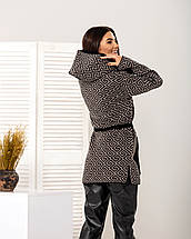 Кардиган женский с капюшоном - Нона, фото 3