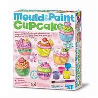 Детский набор для творчества 4M изготовить магниты и брошки для одежды в виде ярких пирожнных