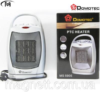 Керамічний тепловентилятор Dоmotec MS 5905, обігрівач MS-5905