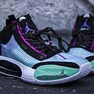 """Кросівки чоловічі Nike Air Jordan XXXIV """"Blue Void, фото 9"""
