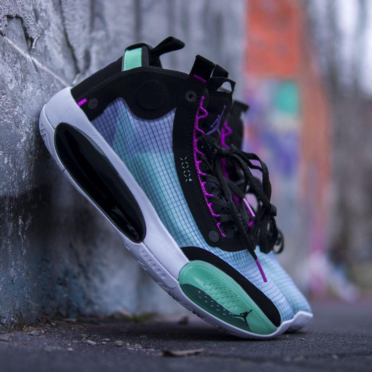 """Кросівки чоловічі Nike Air Jordan XXXIV """"Blue Void"""