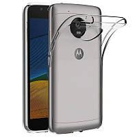 TPU чехол Epic Transparent 1,0mm для Motorola Moto G5