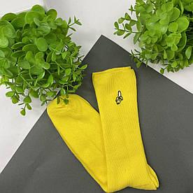 Носки Premium Банан желтые