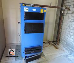 Твердотопливный котел Idmar Wichlacz 44 кВт установленный нашим клиентом г Киев ул. Промышленая