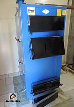 монтаж твердотопливного котла Idmar Wichlacz 44 кВт установленный нашим клиентом г. Киев ул. Промышленая