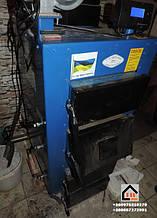 Твердотопливный котел Wichlacz 10 кВт установленный нашим клиентом г Киев.
