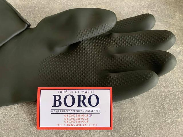 пескоструйные перчатки