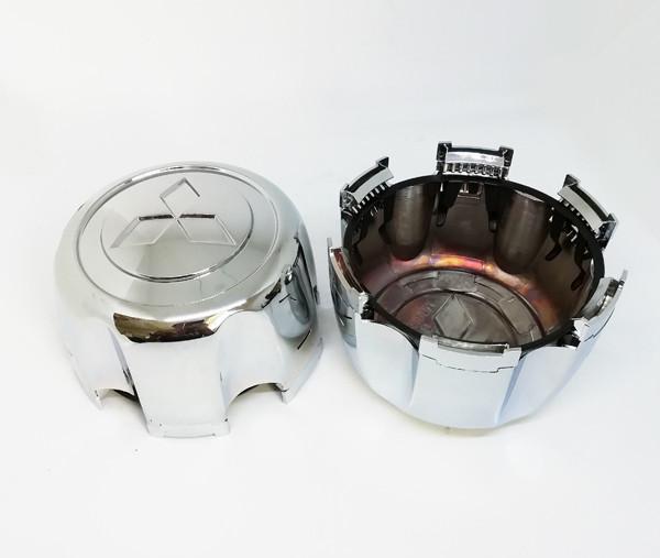 Колпачки для оригинальных дисков Mitsubishi L200, Pagero Sport, Montero Sport (с фиксатором) MB816581 MB624908