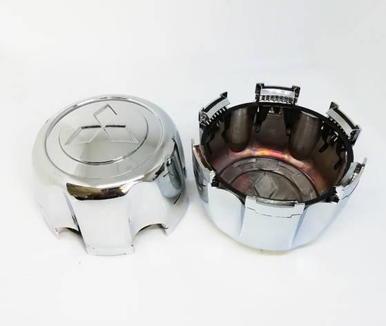 Колпачки для оригинальных дисков Mitsubishi L200, Pagero Sport, Montero Sport (с фиксатором) MB816581 MB624908, фото 2