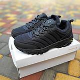 🔥 Зимние кроссовки ботинки мужские Merrell Vibram Чёрный нейлон/мех, фото 4