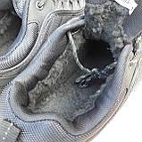 🔥 Зимние кроссовки ботинки мужские Merrell Vibram Чёрный нейлон/мех, фото 7