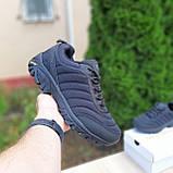 🔥 Зимние кроссовки ботинки мужские Merrell Vibram Чёрный нейлон/мех, фото 9