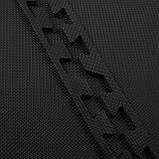 Мат-пазл (ласточкин хвост) Springos Mat Puzzle EVA 120 x 120 x 1.2 cм FM0002 Black. Мат-татами, фото 7