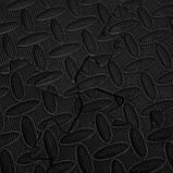 Мат-пазл (ласточкин хвост) Springos Mat Puzzle EVA 120 x 120 x 1.2 cм FM0004 Black. Мат-татами, фото 4