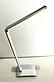Настольная лампа Tiross TS-1810 silver - 7 Вт, 48 Led, фото 5