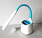 Настільна лампа Tiross TS-1809 white/blue - 6 Вт, 60 Led, фото 7