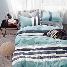 Комплект постельного белья  сатин евро размер 200*220 Bella Villa B- 0261
