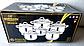 Набір каструль з нержавіючої сталі Bohmann BH 333-12 - 12 пр., фото 4