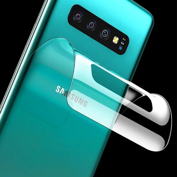 Гидрогелевая защитная пленка Recci для задней панели Samsung Galaxy A30s