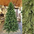 Элитная зеленая 2.1м литая елка искусственная ель литая, фото 4