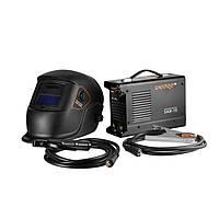 Сварочный аппарат IGBT Dnipro-M SAB-15 + Маска сварщика WM-39ВС + Набор сварочных кабелей WS-3220A