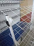 Торгова стійка для взуття, журналів, книг на 5 полиць завширшки 700мм висотою 1500 мм, фото 4
