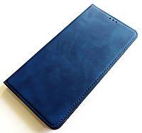 Чохол книжка Leather Book для Xiaomi Redmi Note 8 Синій