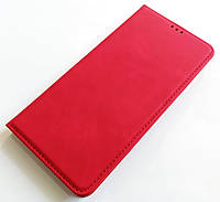 Чохол книжка Leather Book для Xiaomi Redmi Note 8 Червоний