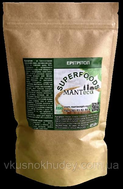 Сахарозаменитель Эритритол Manteca™ (450 грамм)