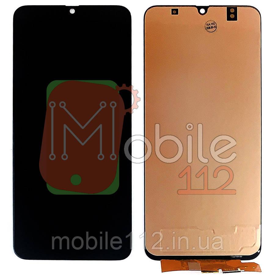 Экран (дисплей) Samsung Galaxy A30 2019 A305F + тачскрин черный OLED