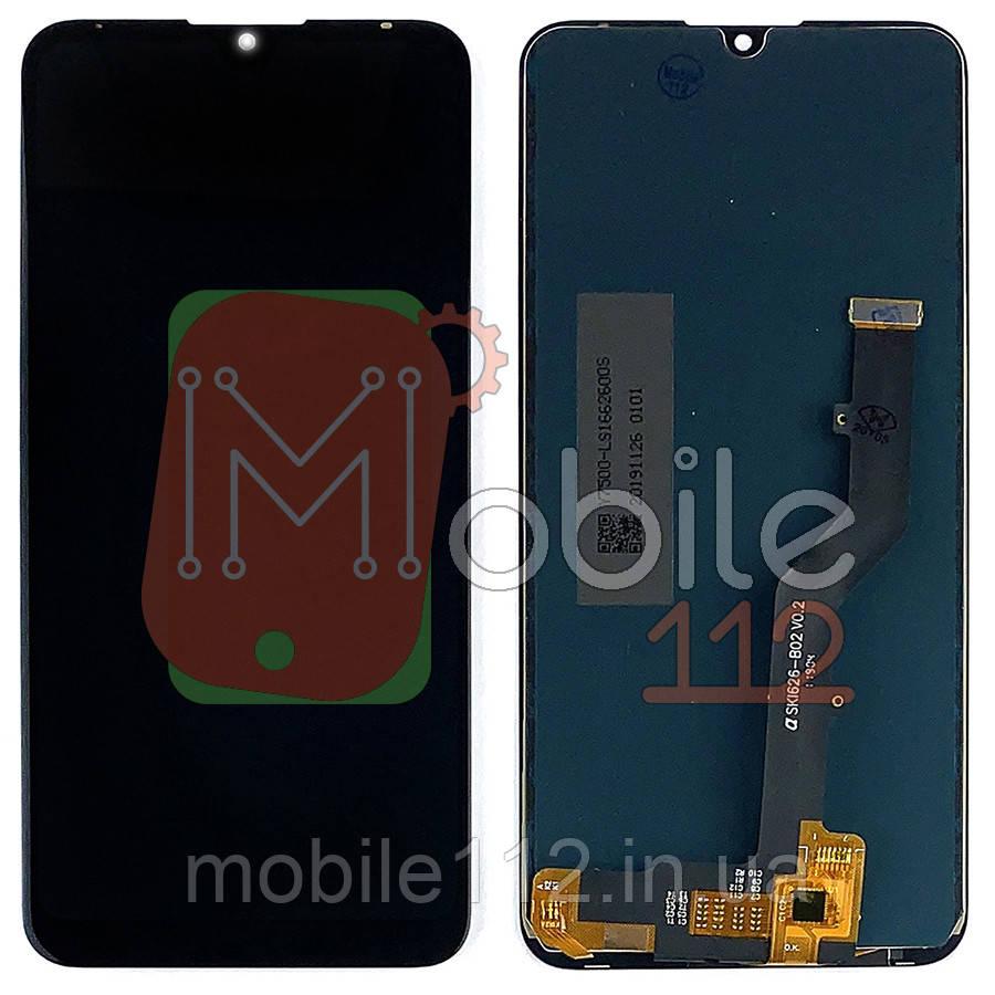 Экран (дисплей) ZTE V10 Vita + тачскрин черный