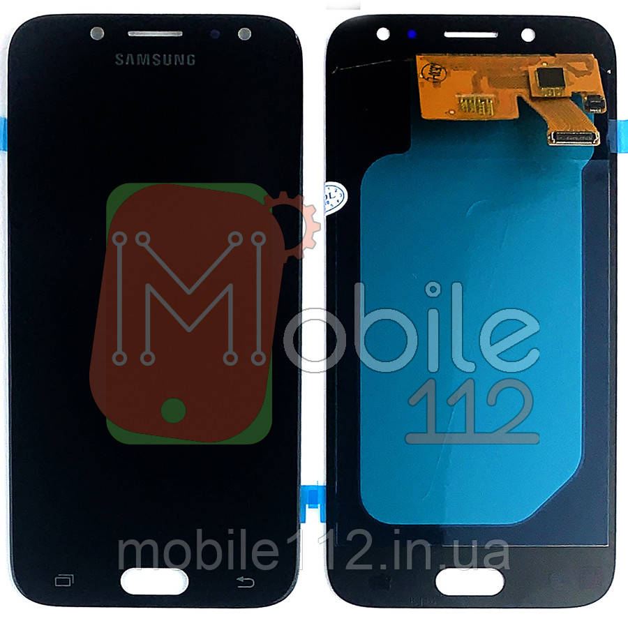 Экран (дисплей) Samsung Galaxy J5 2017 J530F + тачскрин черный OLED