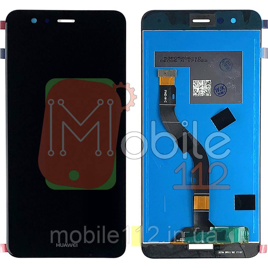 Экран (дисплей) Huawei P10 Lite WAS-L21, WAS-LX1, WAS-LX1A, 51091LXN + тачскрин черный оригинал Китай