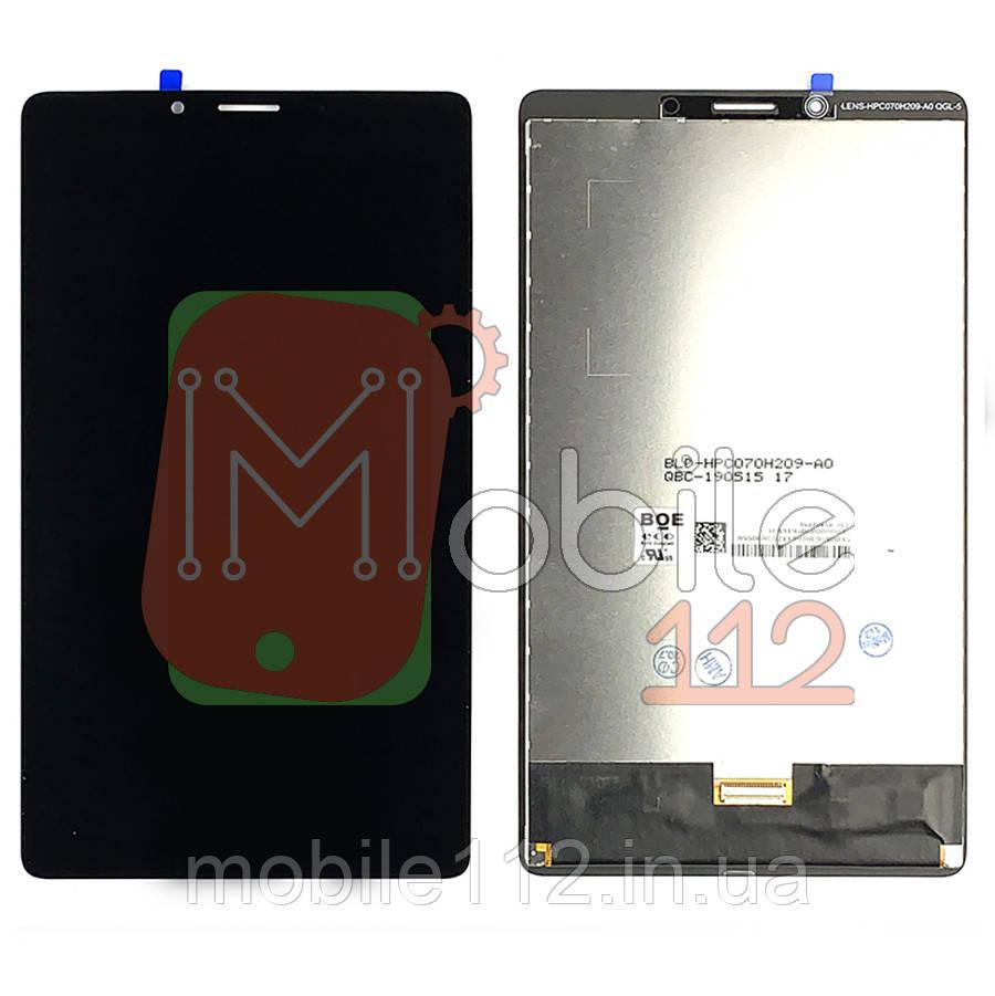 """Экран (дисплей) Lenovo Tab M7 7.0"""" TB-7305 + тачскрин черный оригинал Китай"""