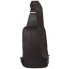 Рюкзак SKY-BOW з одного лямкою 19х32х9 тканина нейлон кс1039сер, фото 2