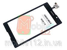 Сенсор (тачскрин) Sony Xperia C C2305 S39h черный