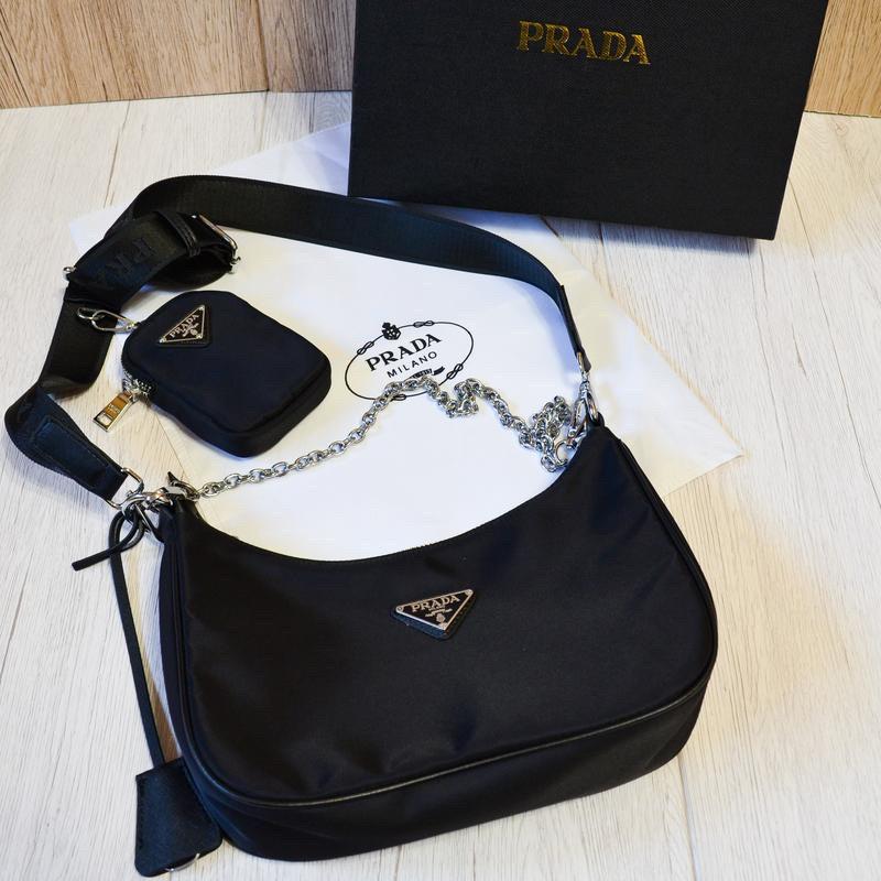 Сумка Prada Re-edition женская 2005 (реплика )