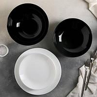 Плоская закусочная тарелка без бортов Luminarc Diwali 190 мм (D7358)