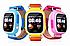Детские часы Smart Baby Watch Q90S (черные, желтые, голубые, розовые)! Распродажа, фото 4